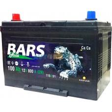 Аккумулятор Bars 6СТ-100 ASIA  B01 (JIS 115D31R)