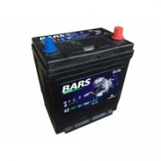 Аккумулятор Bars 6СТ-42 ASIA (ОБРАТНЫЙ) B01 УЗКИЕ КЛЕММЫ (JIS 44B19L)