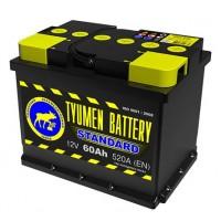 """Аккумулятор Тюмень 6СТ-60L """"TYUMEN BATTERY"""" Standard"""