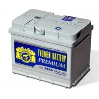Аккумулятор 6СТ-64L TYUMEN BATTERY PREMIUM