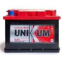 """аккумулятор 6СТ-60 АПЗ """"UNIKUM"""" (ОБР.)"""