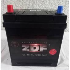 Аккумулятор 6СТ-44 ASIA ZDF Premium прямой