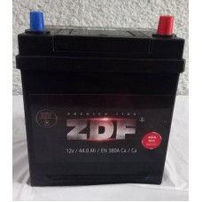 Аккумулятор 6СТ-44 ASIA  ZDF Premium обратный