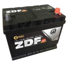 "Аккумулятор 6СТ-75 ASIA ""ZDF PREMIUM"" (ОБР.) B01  (made in EUROPE) (JIS 75D26L, 80D26L, 90D26L)"