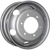 ASTERRO M20 R17.5x6 6x222.25 ET117 CB161 Silver (1721)(Царапина на лицевой стороне)**