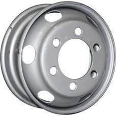 HARTUNG (503) R17.5x6 6x205 ET115 CB161 Silver (503-22)