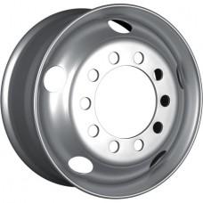 HARTUNG (507-20) R17.5x6.75 10x225 ET132.5 CB176 Silver