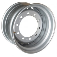 HARTUNG (9911-03);(9911-04) R22.5x11.75 10x335 ET0 CB281 Silver