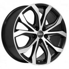 R19 Alutec W10X 8.5/5x112x66.5/28 Racing Black Front Polished (W10X-85928PO13-5)