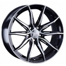 LS Wheels 1055 R18x8 5x114.3 ET45 CB67.1 BKF
