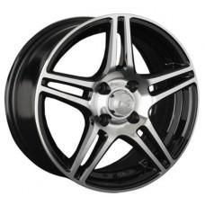 LS Wheels  770 R15x6.5 4x100 ET40 CB60.1 BKF