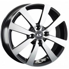 LS Wheels  948 R16x6 4x100 ET41 CB60.1 BKF