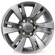 WSP Italy VENERE R22x10 6x139.7 ET20 CB106.1 Anthracite_polished