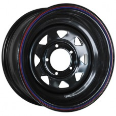 ORW (Off Road Wheels) Nissan/Toyota R16x7 6x139.7 ET30 CB110 Black №13