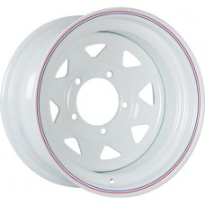 ORW (Off Road Wheels) Nissan/Toyota R15x8 6x139.7 ET-19 CB110 White №5