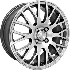 Proma GT R15x6 4x100 ET48 CB54.1 Nero